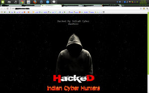 defacing hacker