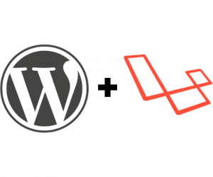 laravel+wordpress